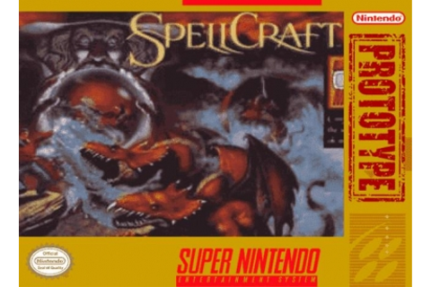 SpellCraft : Aspects of Valor [USA] - Super Nintendo (SNES ...