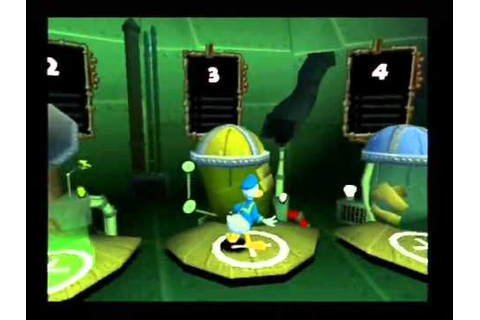 Donald Duck Quack Attack on PS2 - YouTube