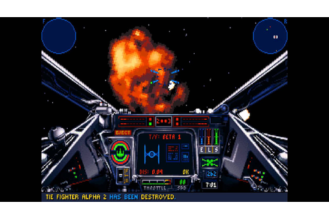 Star Wars X-Wing Simulator (1993) DOS Brief Overview - YouTube