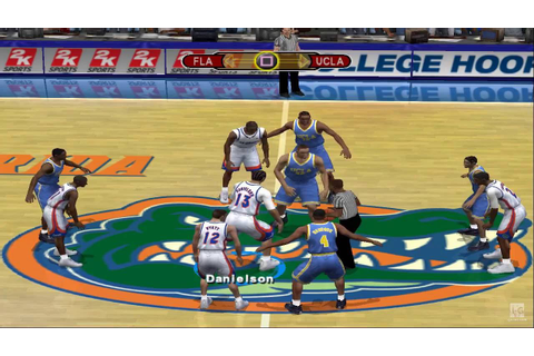 College Hoops 2K6 PS2 Gameplay HD - YouTube
