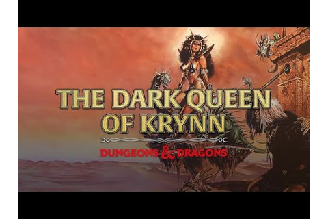The Dark Queen of Krynn (DOS) - Session 1 - YouTube