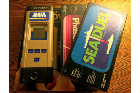 1979 Microvision Video Game Block Buster-Star Trek Phaser ...