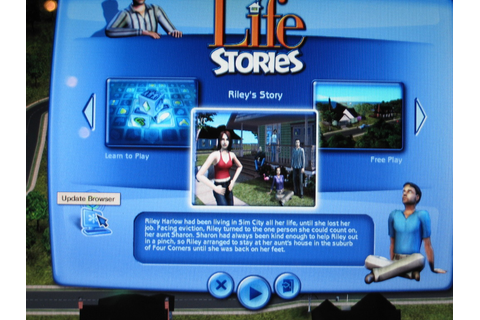 games: The Sims Life Stories