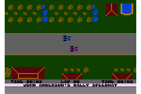 Rally Speedway Download Rally Speedway for Atari 8-bit ...