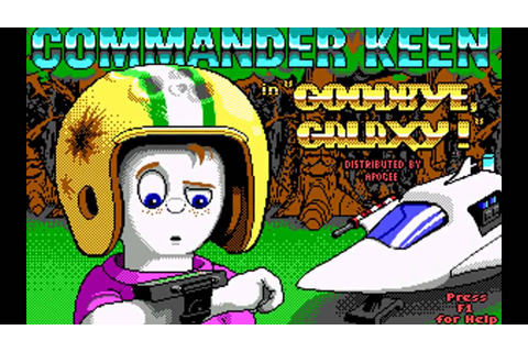 Game Quickie - Commander Keen 4 - YouTube
