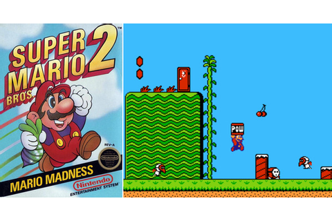 Play Super Mario Bros. 2 on NES