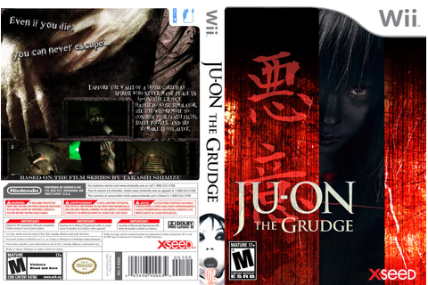 Games Covers: Ju on - The Grudge - Wii