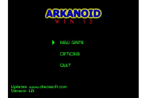 Arkanoid (Win32) - Download