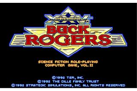 Buck Rogers: Matrix Cubed Download (1992 Role playing Game)
