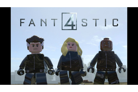 Lego Marvel Superheroes Fantastic Four 2015 Movie Variant ...