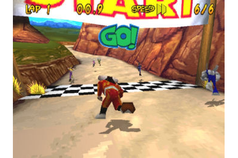 Running Wild (1998) by Blue Shift PS game