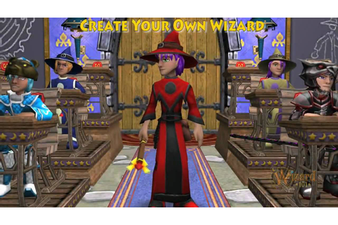 Customize your Wizard101 Character - Male - YouTube