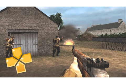 Brothers in Arms : D-Day PPSSPP Gameplay Full HD / 60FPS ...
