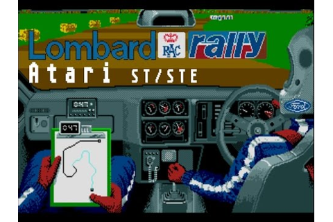 Lombard RAC Rally - Atari ST (1988) - YouTube