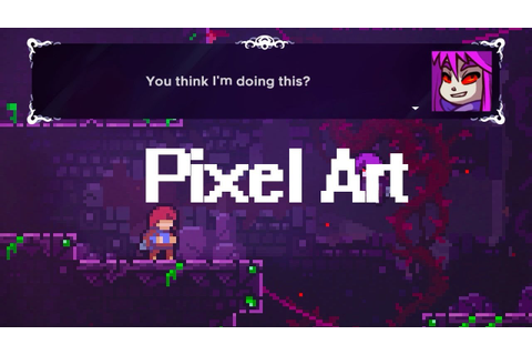 Best pixel art games 2018 - YouTube