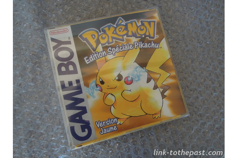 POKEMON JAUNE complet sur Game Boy - Boutique Retrogaming