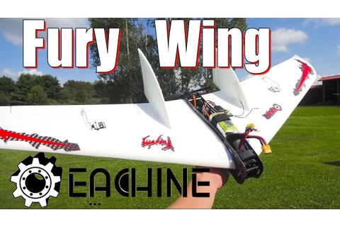 Eachine Fury Wing : Quick Overview and Flight - YouTube