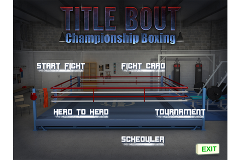 Title Bout Championship Boxing - game_dev_2013