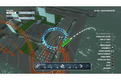 ScreamRide review: Build, ride, and break roller coasters ...