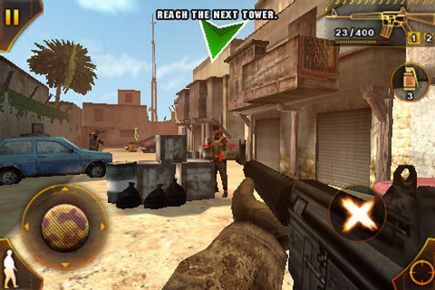 Gameloft Deploying Modern Combat: Sandstorm To IPhone ...