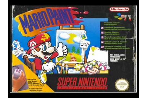 Mario Paint Music - Gnat Attack Game Over - YouTube