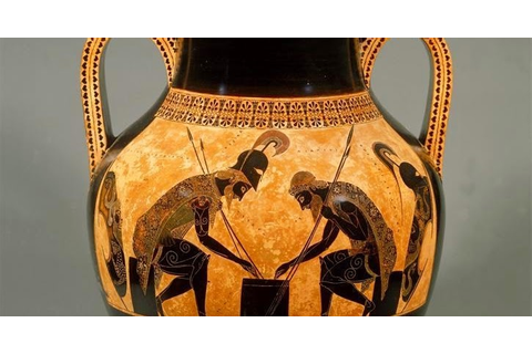 GJCL Classical Art History: Achilles & Ajax Playing a Game