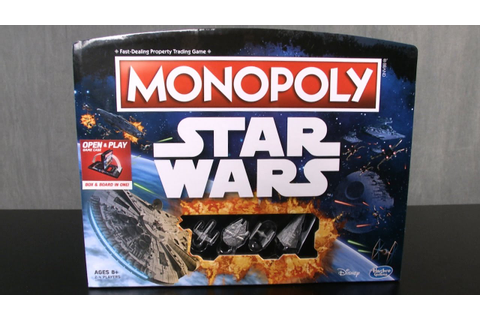 Monopoly: Star Wars Edition Game from Hasbro - YouTube