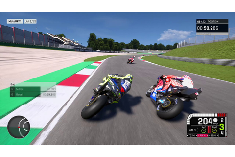 MotoGP™19 First Official Gameplay - YouTube