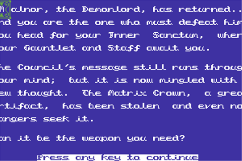 Download Tower of Despair (Commodore 64) - My Abandonware