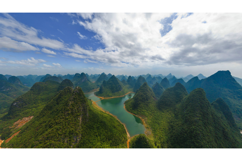 landscape, China, Guilin, River, Hill Wallpapers HD ...