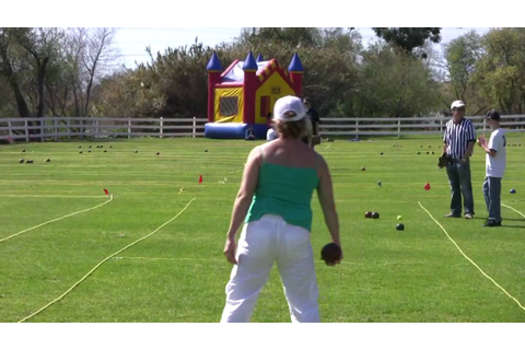 Bocce Ball Game (in HD) - YouTube
