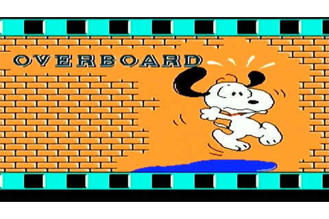 Snoopy's Silly Sports Spectacular - Overboard (NES) - YouTube