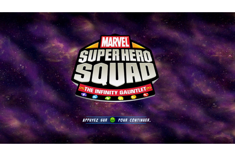 "[360] Introduction du jeu ""Marvel Super Hero Squad : Le ..."