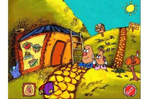 MR. POTATO HEAD SAVES VEGGIE VALLEY - Windows 3.x (Windows ...