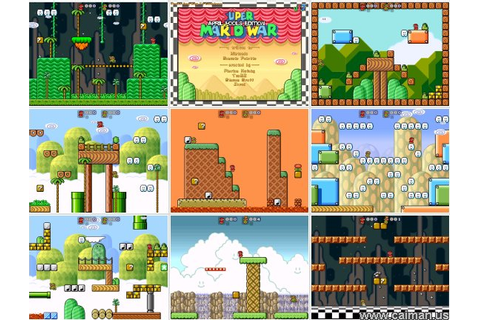 Caiman free games: Super Mario War by Michael Schaffer ...