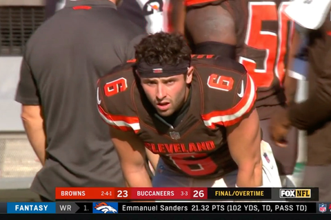 Baker Mayfield's face is the newest meme after the Browns ...