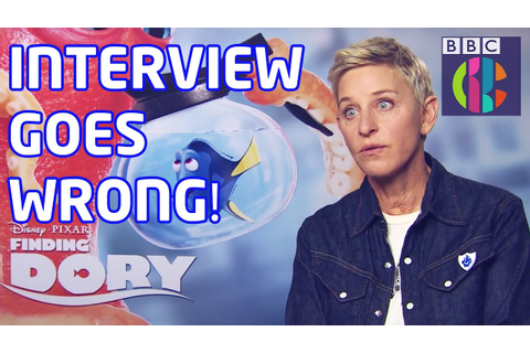 Ellen DeGeneres Finding Dory game goes wrong! | Blue Peter ...
