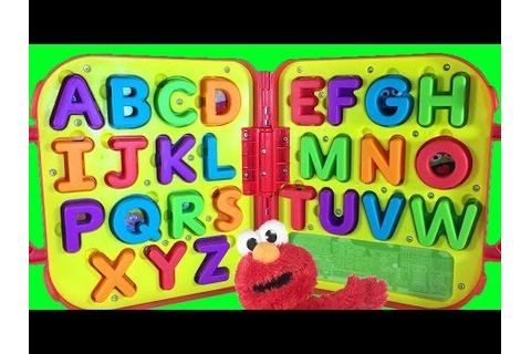 Learn ABC Alphabet with Sesame Street Elmo's On The Go ...