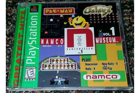 Namco Museum Vol. 1 (Sony PlayStation 1, 1995) PS1 GAME ...