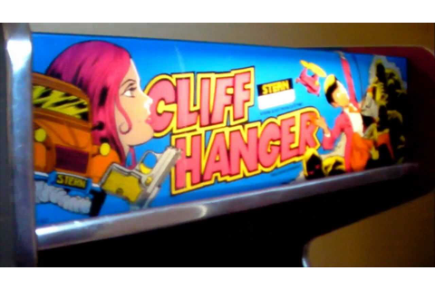 Cliff Hanger arcade game found in Dallas area - YouTube