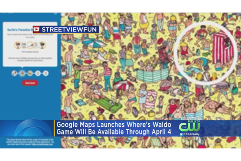 Google Maps Launches Where's Waldo - YouTube