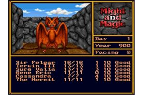 Might and Magic II: Gates to Another World - Nintendo SNES ...