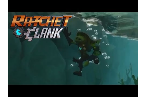 Drowning in games - Ratchet & Clank Remake (PS4) - YouTube