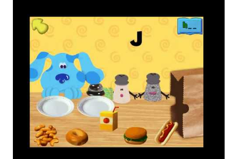 Blue's Clues: Blue's ABC Time Activities Part 1 - YouTube