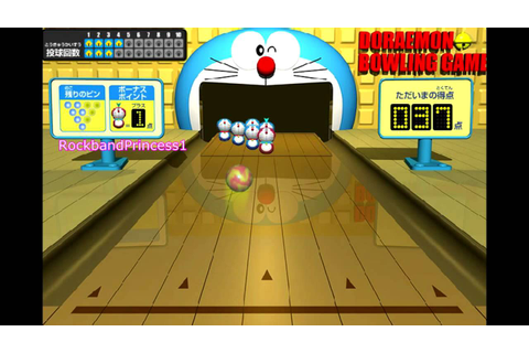 Doraemon Games To Play Doraemon Bowling Game - YouTube