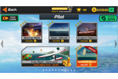 Flight Pilot Simulator 3D Android Game - Pilot Missions ...