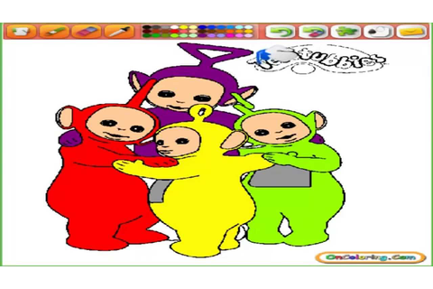 TELETUBBIES - TELETUBBIES COLLORING - TELETUBBIES GAME ...