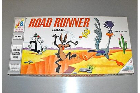 Vintage ROAD RUNNER Board Game LOONEY TUNES + Sylvester ...