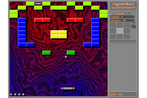 Hyperball (1998) by Abscissa Software Windows game