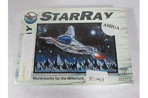 STARRAY STAR RAY Amiga Computer Video Game RARE SEALED ...